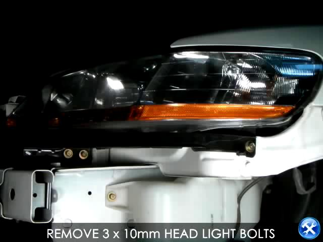 How to install 1998-2002 Honda Accord Projector Headlight