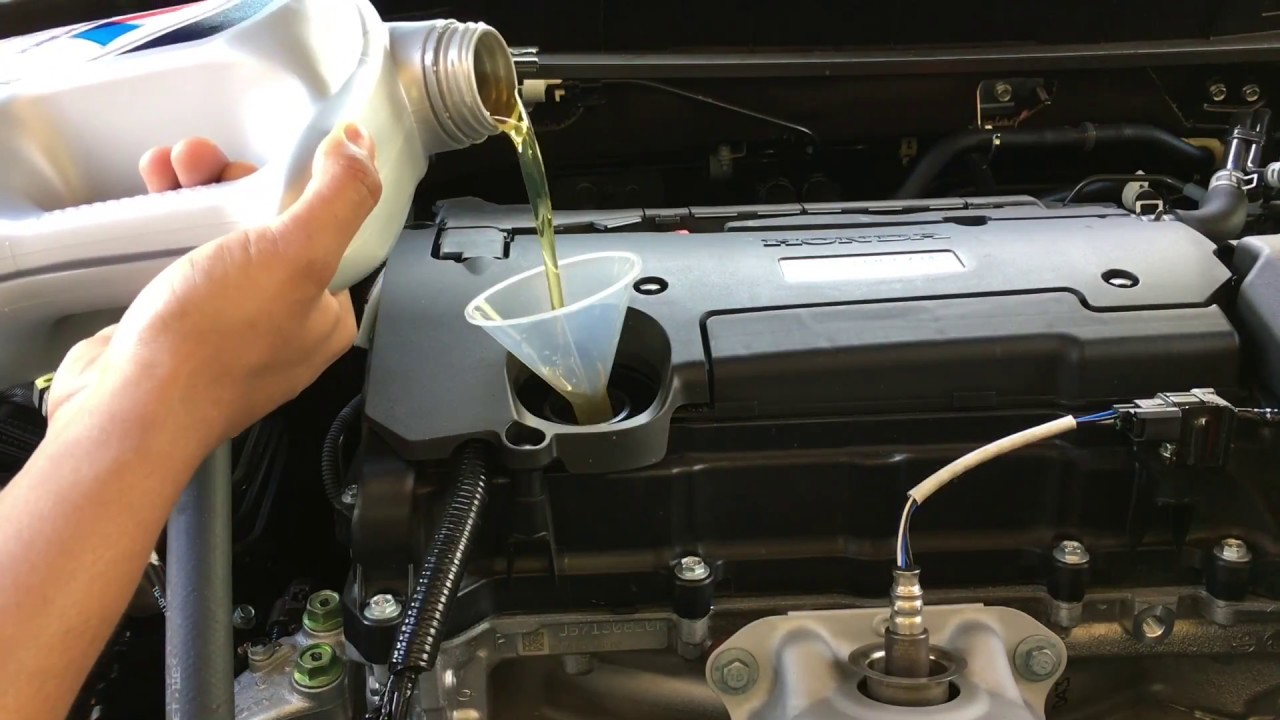 How to Change the Engine Oil on 2019 Honda Accord
