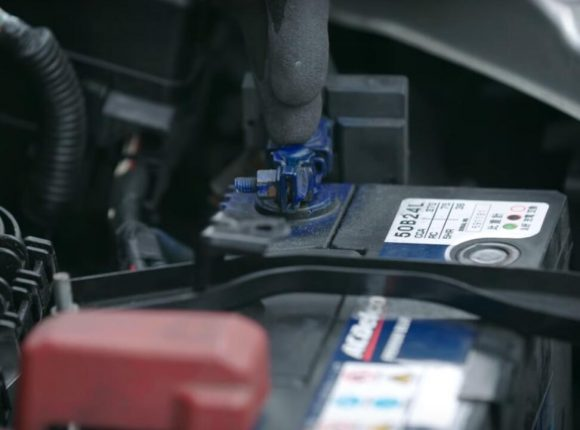 change a car battery